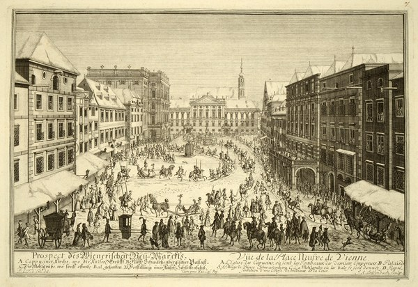 View of the Neuer Markt Square