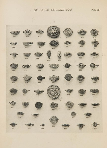 E. Guilhou's Collection of Ancient Rings
